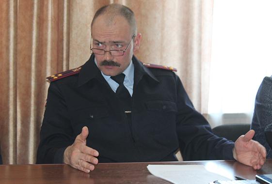 Начальник полиции переходит на работу в Вольскую администрацию